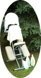 Massage Stuhl, mobile Massage, Relax Zeit